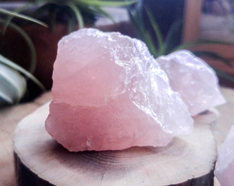 "Rose Quartz ""boulders"" - Awesome Decorative Accent for your Terrarium or Fairy Garden - , Terrarium Supplies, Rocks and Minerals"