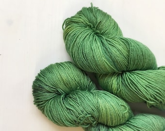 4ply SIlk/Merino - Far away tree