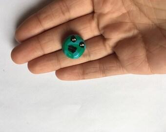 Tiny Green Donut