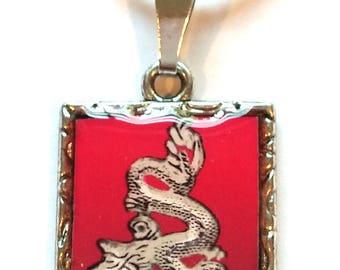 Red Dragon Pendant