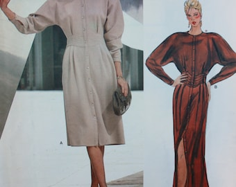Geoffrey Beene Day or Evening-Length Dress Pattern from Vogue American Designer - Size 14