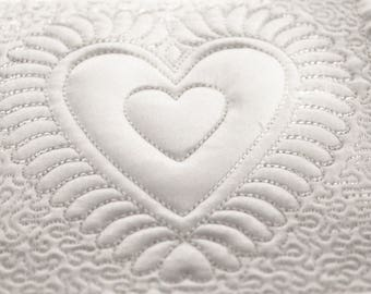 Machine Embroidery Designs  |  Hearts Quilting Blocks Collections ( 10 Designs)