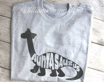 Personalized Dinosaur T-shirts for the whole Family!
