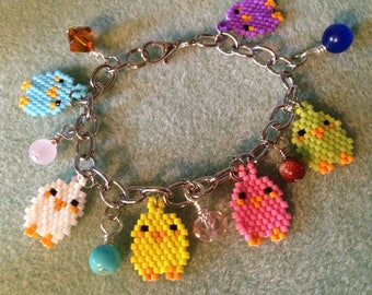 Little Peeps Girls' Charm Bracelet