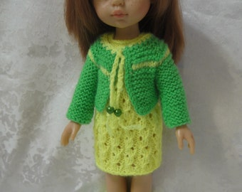 Dress, Jacket, Вoots for doll Paola Reina 32 cm and similar dolls
