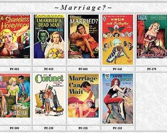 Pulp Fiction Postcards Set of 9 - MARRIAGE?