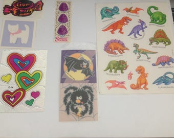 Big Lot Of Vintage 1980s 80s Stickers #4