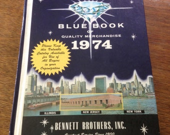 Bennet Brothers Blue Book of Quality Merchandise 1974