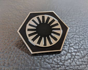 First Order Hat Code Disk greeblie (SW)