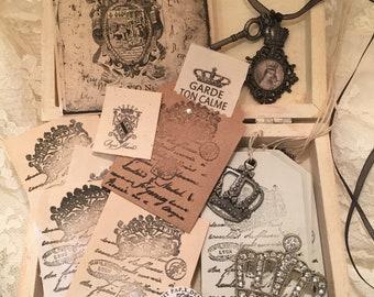 L' AVMOSNE Generale de'Lyon - French Craft Kit / One of a Kind
