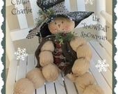 Snowman Patterns Pattern Chilln Charlie the Snowball Snowman PDF Pattern Christmas Handmade Patterned
