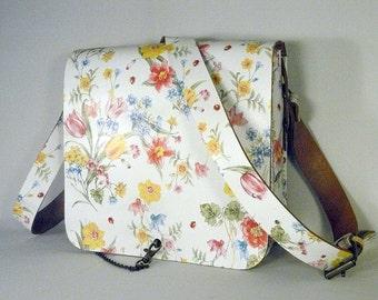 Vintage style Leather Shoulder Bag, Leather Bag, Women's Leather Bag, Shoulder Bag, Leather Satchel, Leather Crossbody Bag