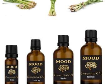 Lemongrass essential oil natural aromatherapy essential oils