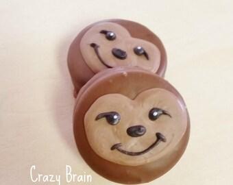 Chocolate Sloth Oreo Cookies (12)