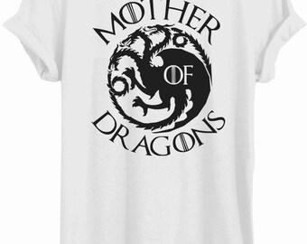 Khaleesi, mother of dragons, GOT, T-shirt, game of thrones shirt, Daenerys, Targaryen, game of thrones tee T098