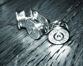 Bullet casing lapel pin / brooch / hat pin