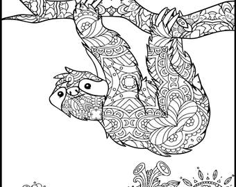 Gift Adult Coloring Pages