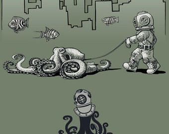 Octopus Deep Sea Diver