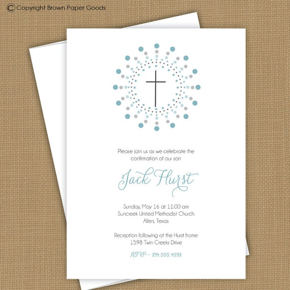 confirmation invitations free