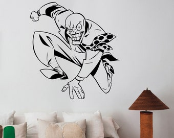 The Mask Movie Wall Sticker Removable Vinyl Decal Comics Hero Art Decorations for Home Housewares Dorm Kids Room Bedroom Decor tmk2