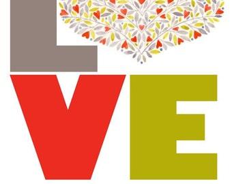 Love No.3 - giclee print