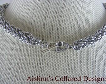 CCC BDSM Gorean Slave Collar Choker Necklace