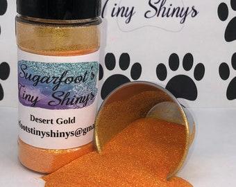 Glitter-Desert Gold (polyester glitter, plastic glitter, glitter, embellishments, crafts, scrapbooking, tumblers, nail art)