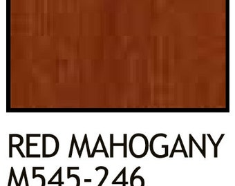 wiping wood and architectural wiping stains 2 Red Mahogany Gal