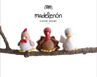 "Madelenon PDF Crochet pattern "" My Farm 2"""