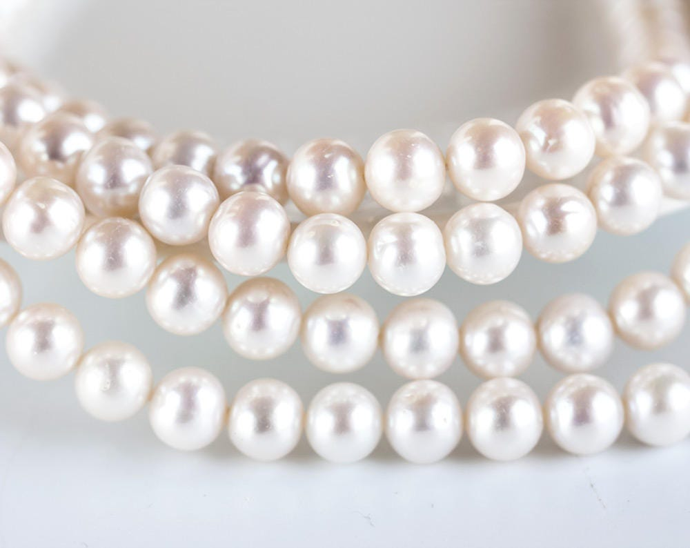for white wired bracelet line size free low thumb pearls women india elastic only round plated buy fresh in prices water stretch dzinetrendz pearlstriple basra triple at gold product