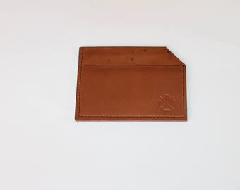 100% leather card holder