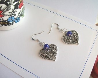Butterfly Earrings, Caterpillar, Chrysalis, Wings, Monarch, Capistrano, Moths, Butterflies in Belly, Celtic Symbol, Chinese Good Luck
