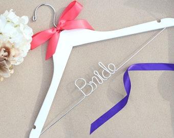 Bride Hanger, Bridal Hanger, Wedding Hangers, Unique Hanger, Mrs Hanger