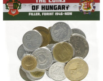 Lot of Mixed 15-50-100 Hungary Coins Filler Forint Hungarian Pre-Euro 1946 - Present Money