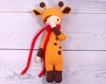 Eco friendly toy Giraffe Doll Lalylala Amigurumi lalylala toy Eco friendly doll Giraffe toy Amigurumi giraffe Giraffe amigurumi Eco friendly