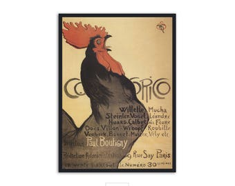 Steinlen Theophile Vintage French poster, P054