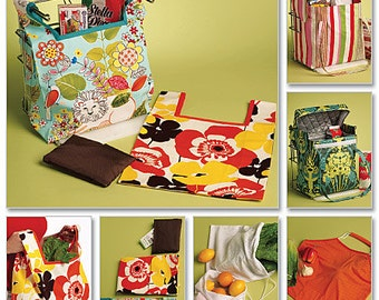 Butterick Sewing Patterns B5338 Produce and Grocery Bags