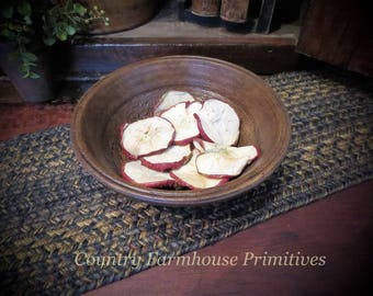 25 Dried Apple Slices ~ Crafts | Potpourri | Bowl Fillers | Holiday Decorating