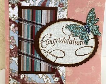 Anniversary card, congratulations card, graduation card