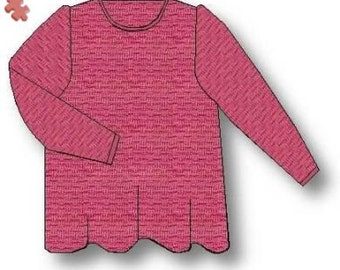Ultimate Tunic, Machine Knitting Pattern. Download version