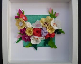 Textile Floral Spring Flower Picture