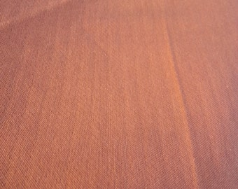 Burnt Orange Cotton Fabric - BY THE YARD