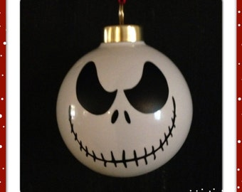 OOAK Custom personalized Christmas Ornament Jack Skelton (personalized)