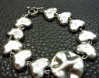 Adorable Generous Plated Silver Bracelet