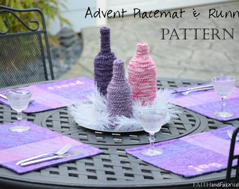 Advent Quilt Placemats & Table Runner Pattern