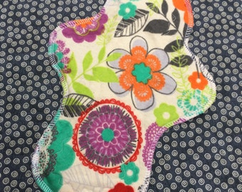 """Ready to Ship, 10"""" Moderate, Waterproof Moderate Reusable Cloth Mama Pad, Other Sizes Available Upon Request"""