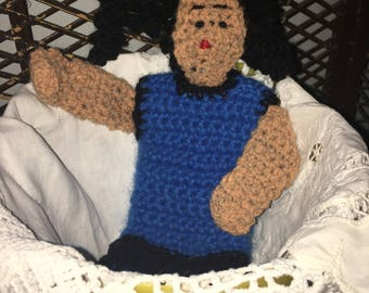 Ethnic Crochet Puppet Doll
