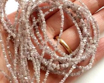 Pink Diamonds, Natural Pink Raw Diamond, Loose Pink Diamond, Rough Uncut Diamond Beads Pink Conflict Free Diamonds 1.5mm to 3mm 3.5