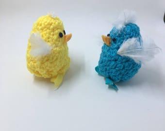 Crocheted Easter Chicks