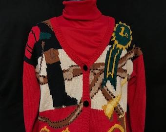 Vintage Ugly Christmas Sweater- Alexandra Barlett